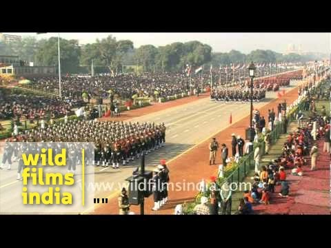 Republic Day parade - full ceremony!        - Part 1