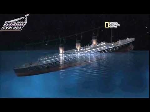 How Sank the TITANIC? New Sinking Theory 2012 by James Cameron