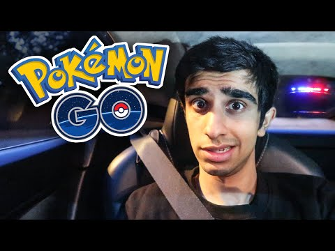 ARRESTED WHILE PLAYING POKEMON GO?!