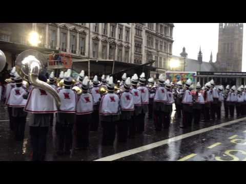 London's New Year's Day Parade 2014 - West Monroe High School - 1/1/2014 (HD)