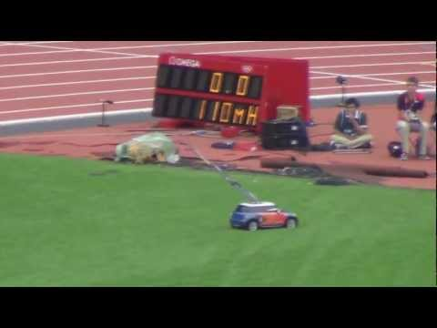 Car to transport Javelins - London 2012 Olympic Games - Athletics