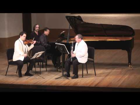 Bartók Contrasts for Clarinet, Violin & Piano - 3rd mvt. | T. Levy, G. Schmidt, V. Asuncion