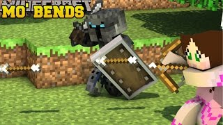 Minecraft: MO' BENDS (EPIC PLAYER ANIMATIONS & MOBS!) Mod Showcase