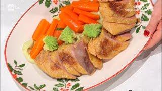 Petto d'anatra con cavolo e carote glassate - E' sempre Mezzogiorno 07/01/2021