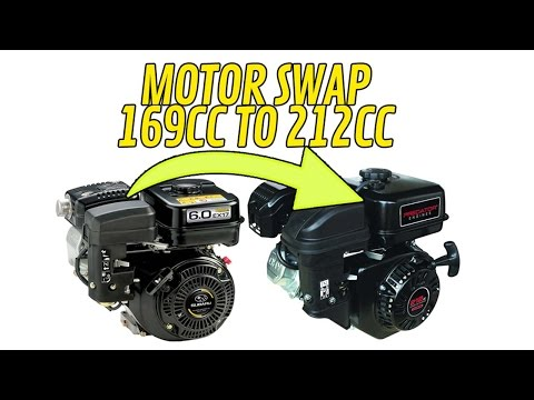 Go Kart Motor Swap - Subaru 169cc to Predator 212cc