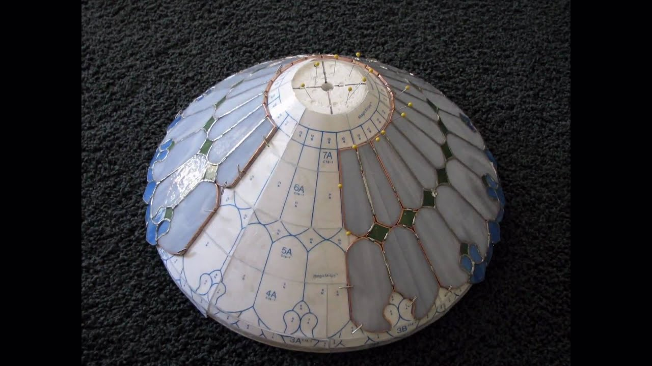 ART NOUVEAU LAMP CONSTRUCTION