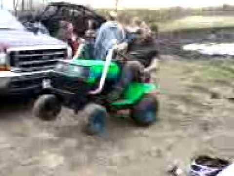 Chris at mudfest