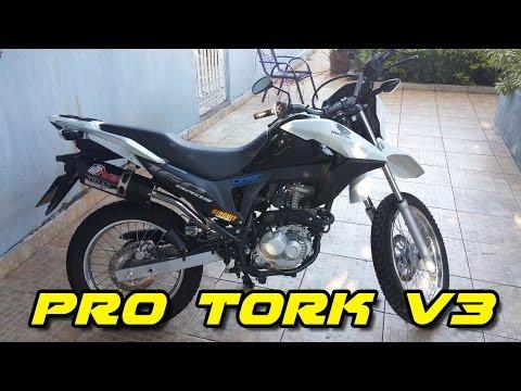 Honda Bros 160 INSTALAÇÃO PRO TORK V3 ! 4/4 【FullH