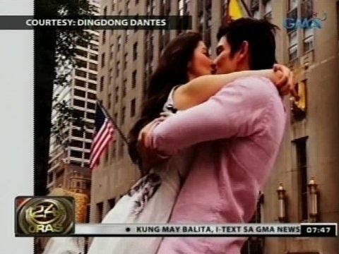 24 Oras: Marian Rivera at Dingdong Dantes, sweet sa kanilang New York Vacation