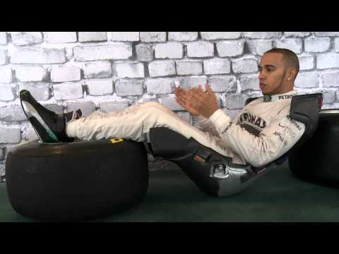 Lewis Hamilton explains his driving position