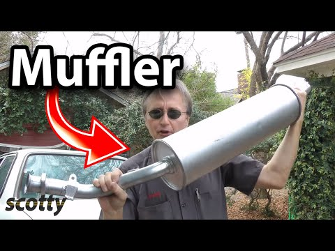 Replacing A Muffler On Your Car
