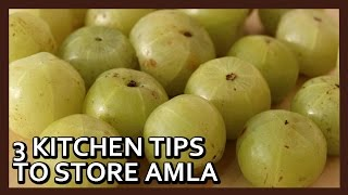 How to Preserve Amla for months | How to Store Amla | Kitchen Tips by Healthy Kadai