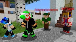 JP Plays e Robin Hood Gamer FORAM HACKEADOS E INVADIRAM MEU MUNDO DE MINECRAFT