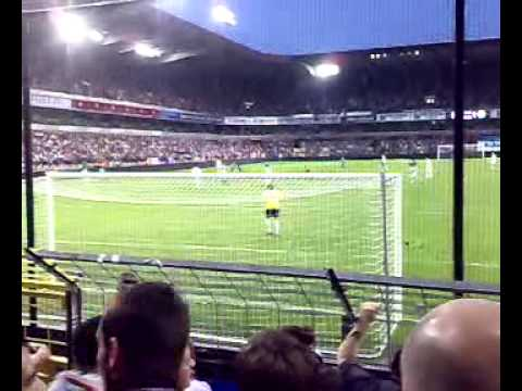 But de Boussoufa Anderlecht vs Cercle Bruges 8/08/09