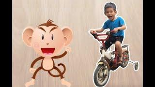 Bé Bo Chơi Trò Chơi Ghép Hình Con Khỉ - Animal Names Puzzle MonKey  - BVA TV