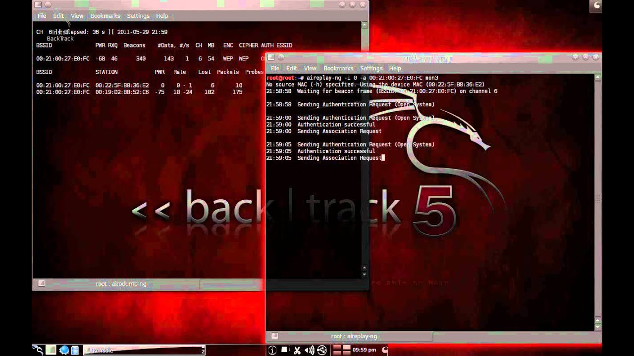 Crack wep aircrack backtrack 5