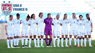 WNT vs. France: Highlights - March 11, 2015