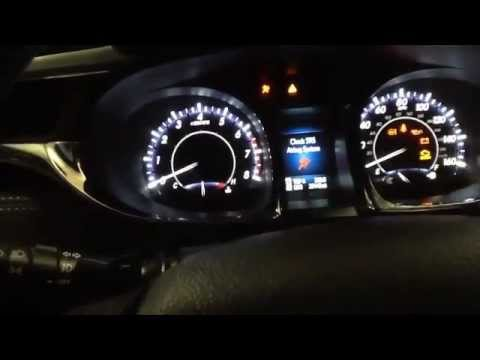 Reset Maintenance Required Light on a 2013 Toyota Avalon