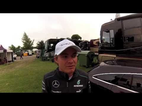 Nico Rosberg On His Silverstone Grand Prix Victory