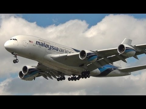 London Heathrow - 1 hour of Plane Spotting / HD