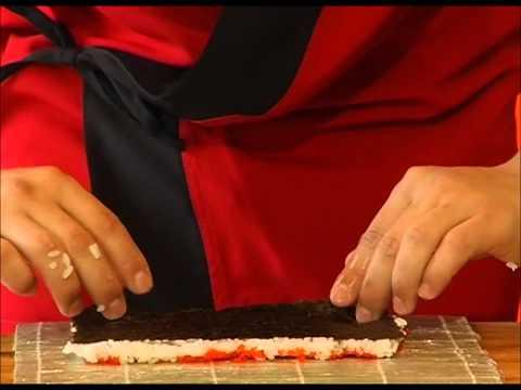 Как приготовить домашние суши - рецепт - видео
