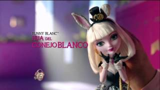 Ever After High Darling Charming y Bunny Blanc  Comercial México 2015