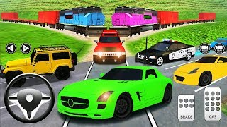 Parking Frenzy 2.0 3D Simulator Green Car - Best Android Gameplay #12
