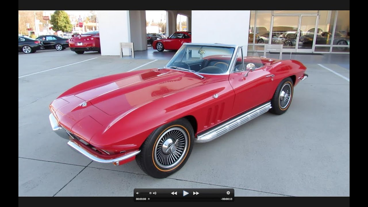 1963 Corvette Stingray >> 1965 Chevrolet Corvette Stingray Start Up, Exhaust, and In Depth Tour - YouTube