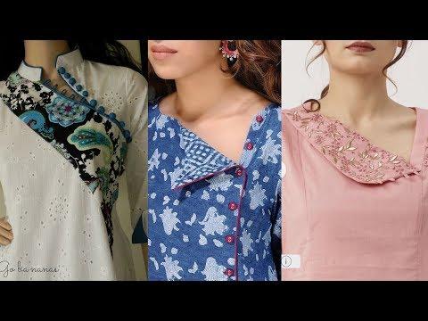 Latest Stylish Neck Designs for Kurti / Kurta / Punjabi Suits Neck Designs
