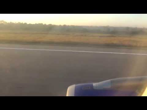 Take off from Hyderabad Airport on IndiGo Airlines A320 (VT-IED)