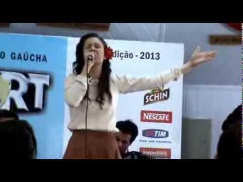 Jessilena Etcheverry - ENART 2013 (finalíssima) - China Livre - Campeã Solista Vocal Feminino