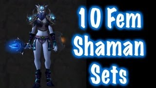 10 Sexy Female Shaman Transmog Sets (World of Warcraft)