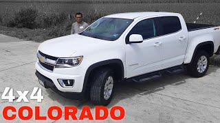 🔴Conoce Chevrolet Colorado 4x4 - Camioneta PickUp Trabajo y Placer!