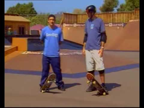 How To Kickflip With Tony Hawk