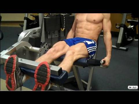 How To: Leg Extension (Cybex) Image 1