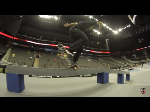 Street League 2012: Chaz Ortiz Kansas City Quick Clip
