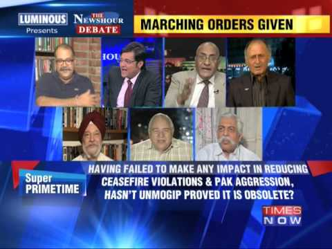 The Newshour Debate: India to UN: We can handle Kashmir - Part 2 (11th July 2014)