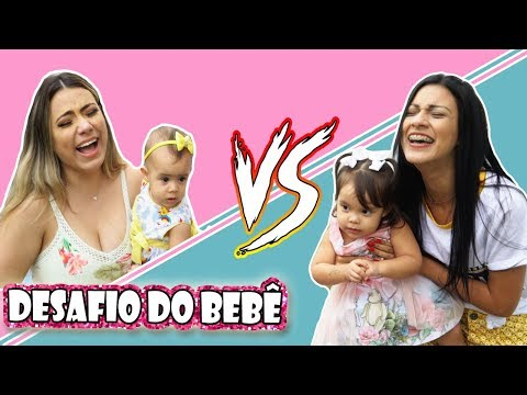 DESAFIO DO BEBÊ #4 - Ft. Jaqueline Sobrinho e Valentina   Kathy Castricini