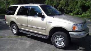 1999 FORD EXPEDITION OVERVIEW Start up, walk around tour, review