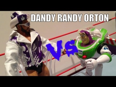 GTS ACTION MATCH! Randy Orton Basic series 32 WWE Mattel wrestling action figure match and review