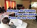 Entrega de Tablets Plan Ibirapitá Paso de los Toros