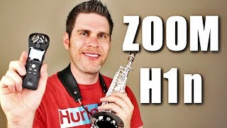 Zoom H1n - Unboxing & Saxophone Audio Test ????????