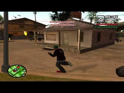 3-тий выпуск на GTA San Andreas- Строим дома