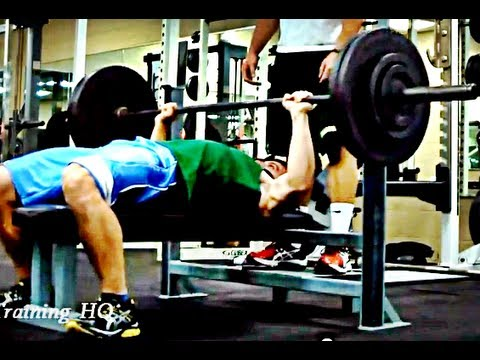 Upper Body Workout: Bench Press Training Image 1