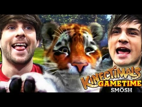 PANTHERS MAKE STUPID PETS (Gametime with Smosh)