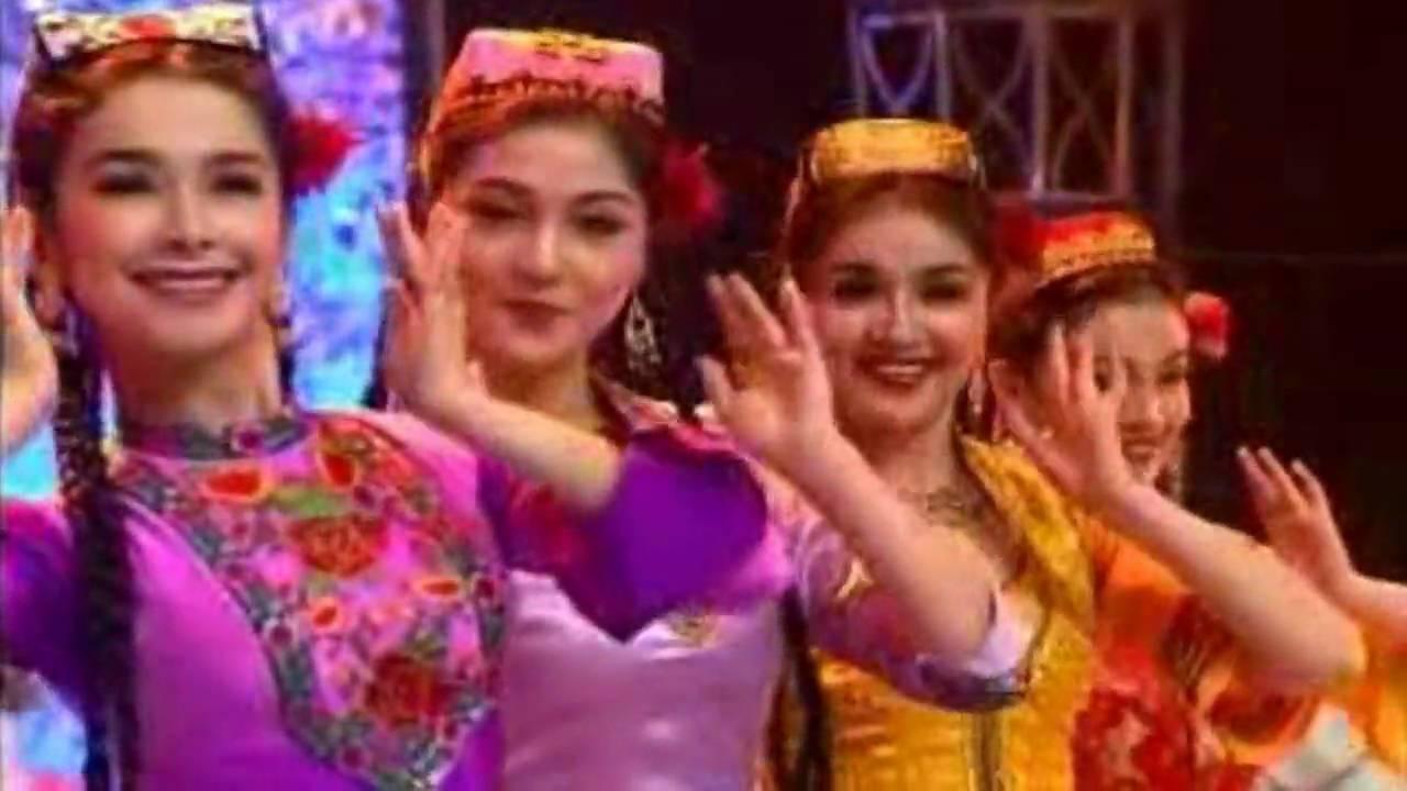 Uyghur folk song & dance - YouTube