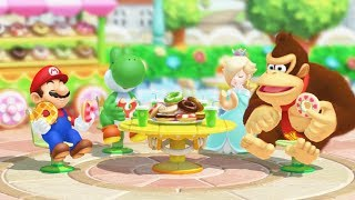 Mario Party 10 Mini Games - Mario Vs Donkey Kong Vs Rosalina Vs Yoshi (Master Cpu)