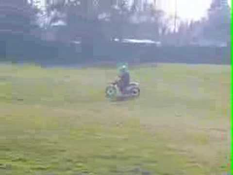 5 years old yamaha pw50 Video