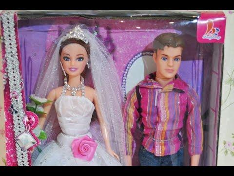 ❀Мультики для девочек: Сказочная Барби- невеста и Кен/Barbie Dolls Wedding Day