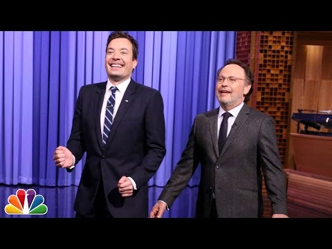 Billy Crystal Tags in to Tell a Few Monologue Jokes